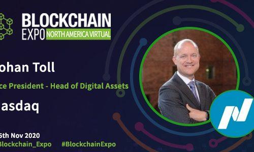 Blockchain Expo North America Speaker Banner - Johan Toll